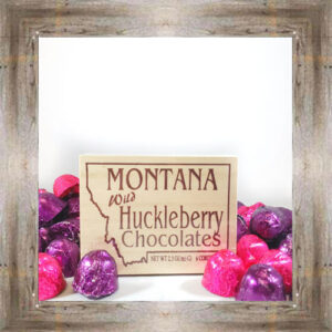 6pc. Huckleberry Milk Chocolate Cordial Box $6.99 #6334