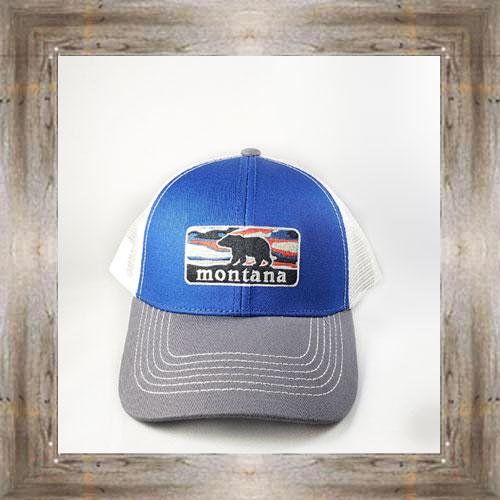 Bear Sunset MT Trucker Hat $24.99 #8574