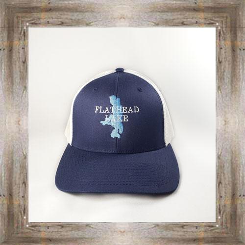 Flathead Lake Navy Cap $28.00 #8122