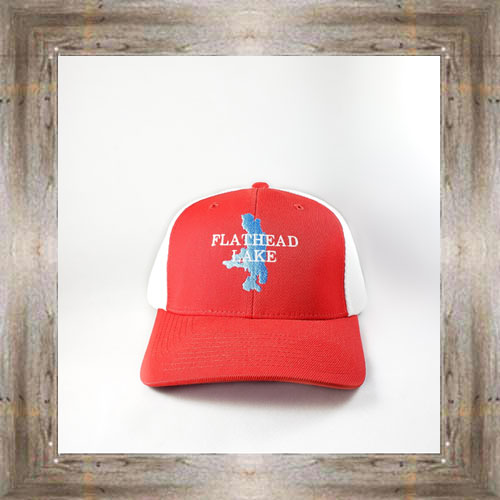 Flathead Lake Red Cap $28.00 #8122