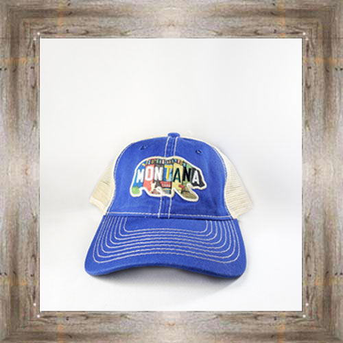 MT Bear License Plate Cap $24.99 #8689