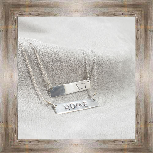 'Arianna's Jewels' Stamped Bar Montana & Home Necklaces $28.99 #7286