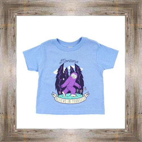Believe In Yourself Toddler Tee $14.99 #8604
