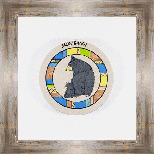Big Bear Little Bear ND Coaster $5.50 #8654