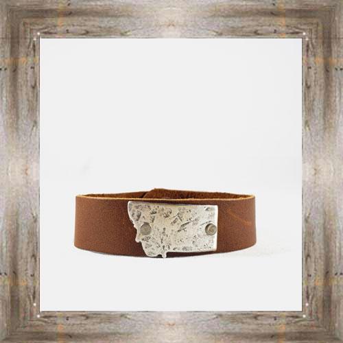 'Daphne Lorna' Montana Leather Cuff $48.99 #8996