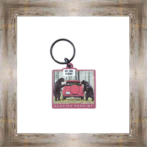 Look A Menu Key Chain $6.25 #8178
