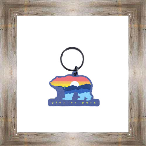 GNP Sunset Bear Key Chain $6.25 #8178