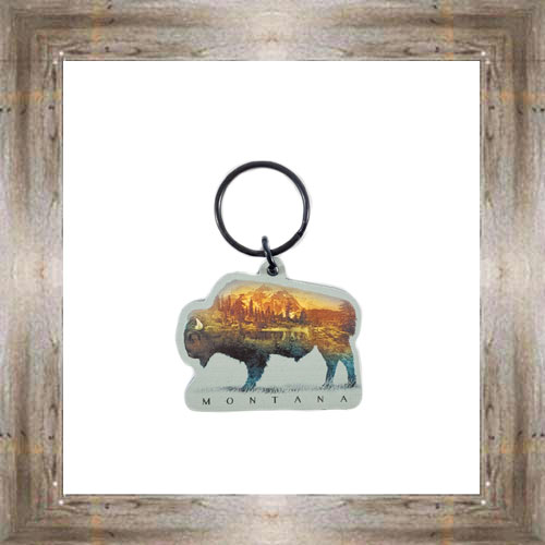 MT Mountain Buffalo Key Chain $6.25 #8178