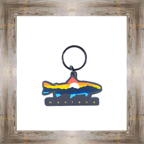 MT Sunset Fish Key Chain $6.25 #8178