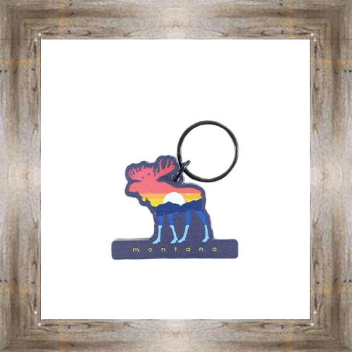 MT Sunset Moose Key Chain $6.25 #8178