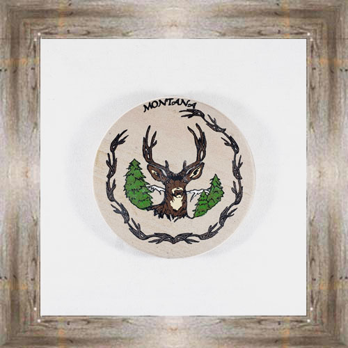 Elk ND Coaster $5.50 #8654
