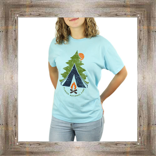 Country Campfire Ladies Tee $23.99 #8863