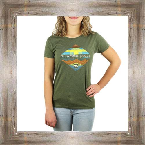 Summer Mountain Sun Ladies Tee $23.99 #8617