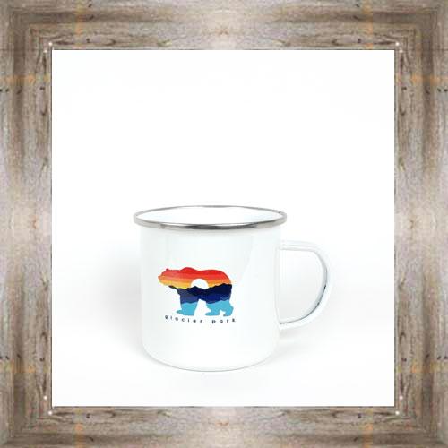 GNP Sunset Bear Tin Mug $16.50 #8179