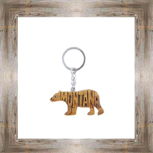 MT 3D Grizzly Key Chain $6.75 #6695