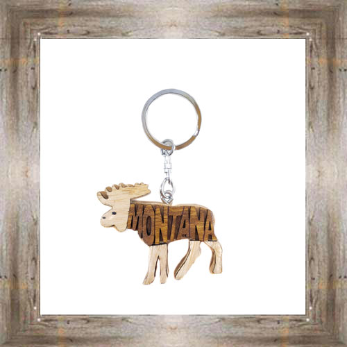 MT 3D Moose Key Chain $6.50 #6694