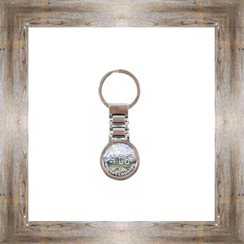 MT Deluxe Metal Watch Key Chain $7.00 #7765