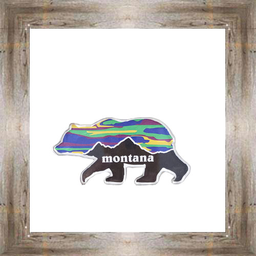 MT Grizzly Sunset Magnet $6.25 #8771