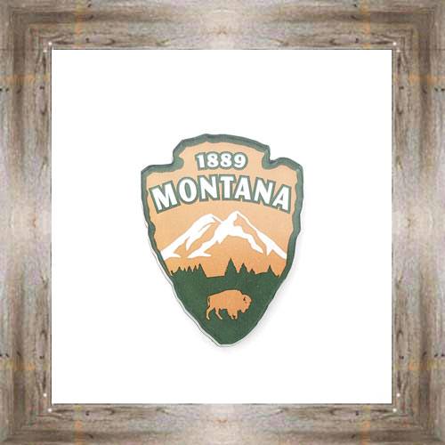 MT Mountain Arrowhead Magnet $6.50 #8914