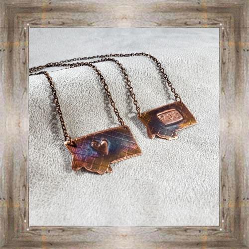 'Handcrafted Originals' Assorted Copper Necklaces (2) $34.99 #7270