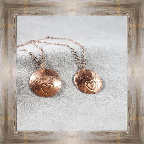 'Handcrafted Originals' Assorted Copper Necklaces (5) $34.99 #7270