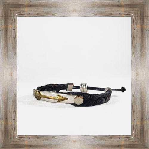 Arrow Horse Hair Adjustable Bracelet $14.99 #6239