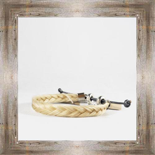 Simple Horse Hair Adjustable Bracelet $14.99 #6239