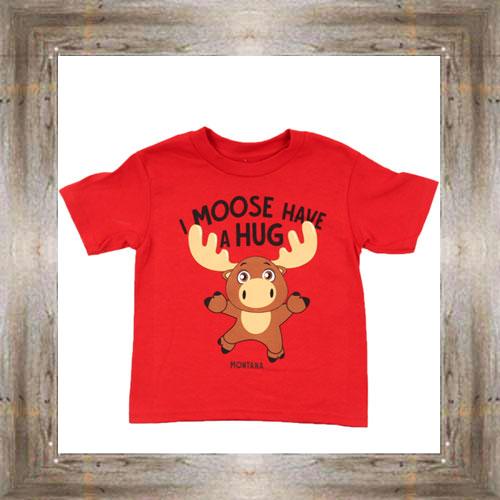 I Moose Have A Hug Toddler Tee $14.99 #8913