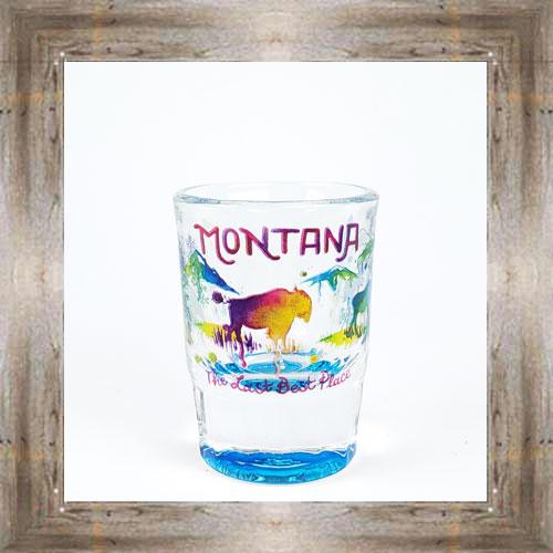Last Best Place Shot Glass $6.25 #8700