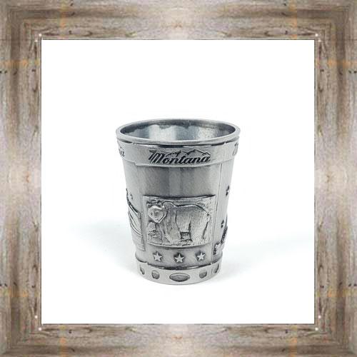 MT Antique Silver Shot Glass $7.50 #6069