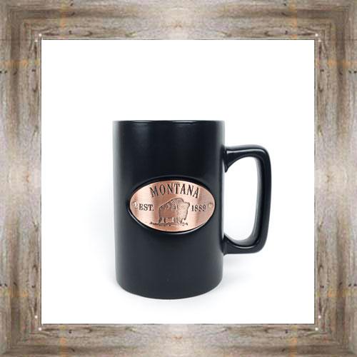 MT Black Medallion Mug $14.99 #8325