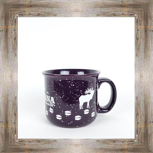 MT Elk Tracks Purple Mug $14.99 #3590