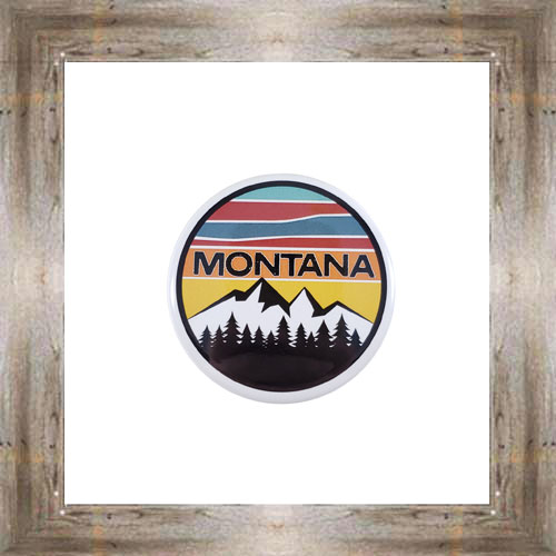 Retro Montana Button Magnet $5.25 #8725