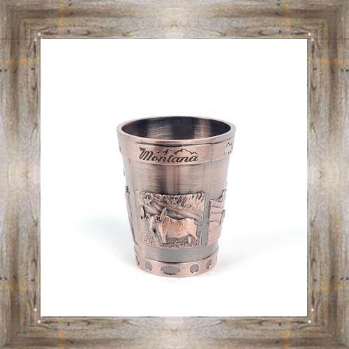 MT Metal Shot Glass $7.50 #3581