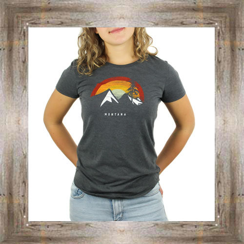 Rainbow Mountains Ladies Tee $23.99 #8567