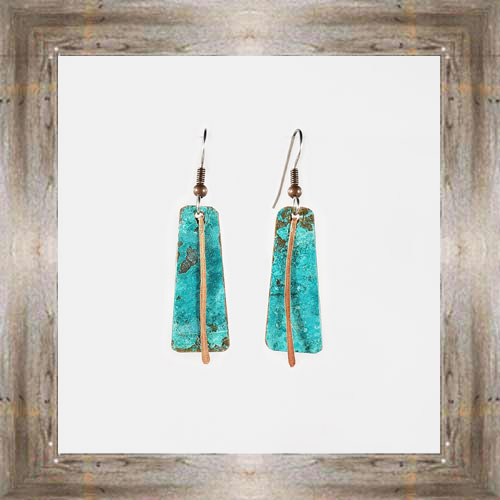 'Moondance' Recycled Copper Earrings (1) $44.99 #7264