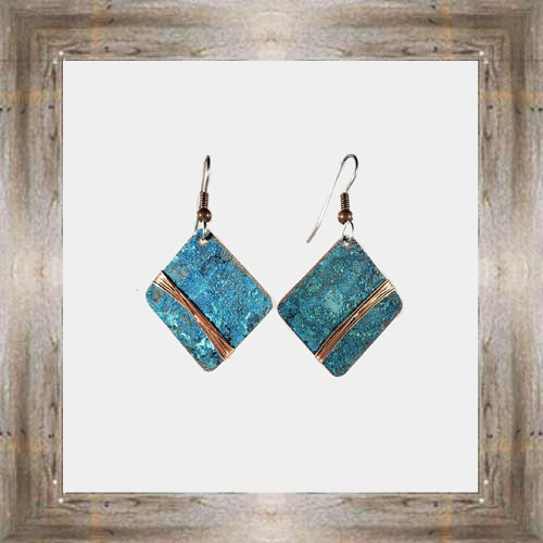 'Moondance' Recycled Copper Earrings (3) $44.99 #7264