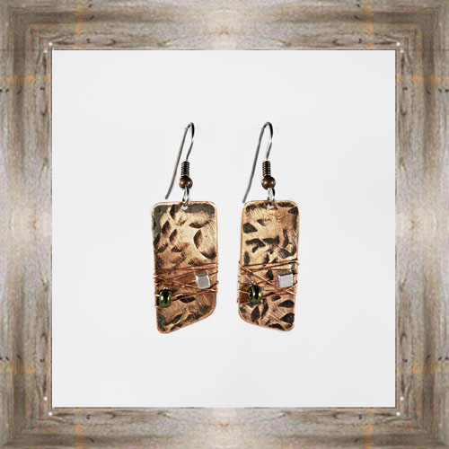'Moondance' Recycled Copper Earrings (4) $44.99 #7264