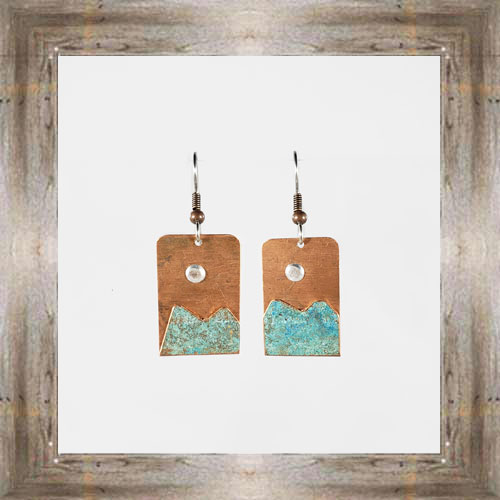 'Moondance' Recycled Copper Earrings (5) $44.99 #7264