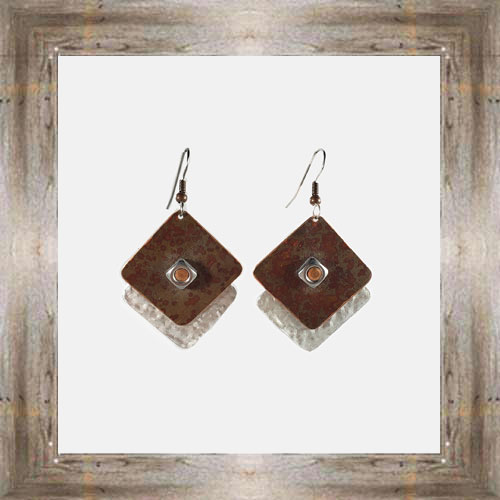 'Moondance' Recycled Copper Earrings (6) $44.99 #7264