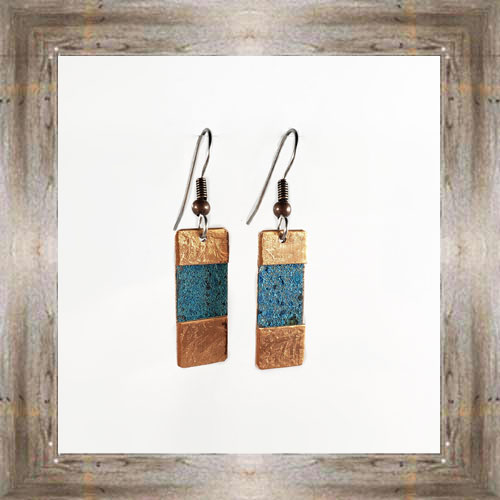 'Moondance' Recycled Copper Earrings (7) $44.99 #7264