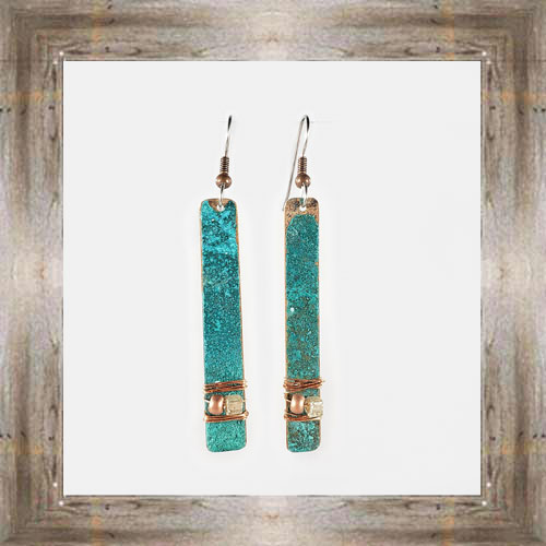 'Moondance' Recycled Copper Earrings (8) $44.99 #7264