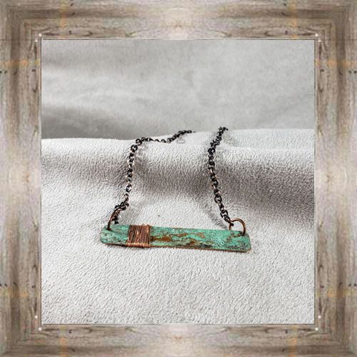 'Moondace' Recycled Copper Necklace (1) $44.99 #8097