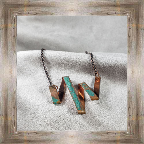 'Moondace' Recycled Copper Necklace (2) $44.99 #8097