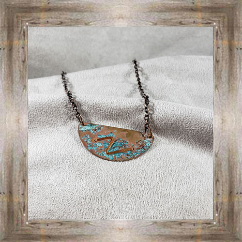 'Moondace' Recycled Copper Necklace (3) $44.99 #8097