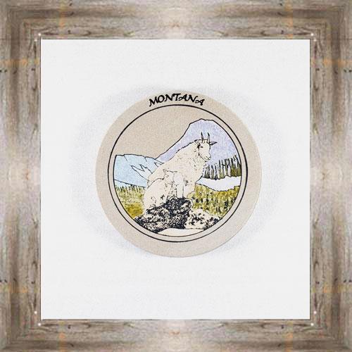 Mountain Goats ND Coaster $5.50 #8654