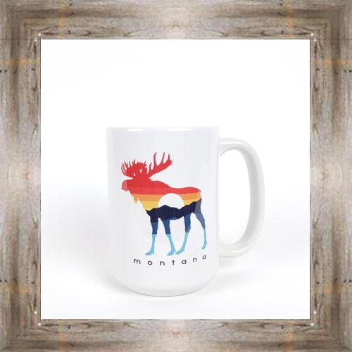 Sunset Moose Mug $12.95 #8294