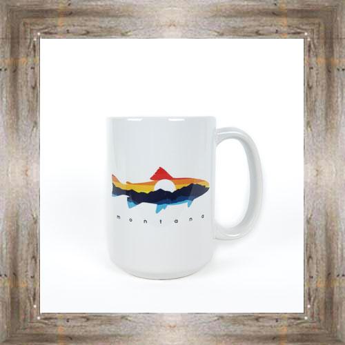 Sunset Trout Mug $12.95 #8294