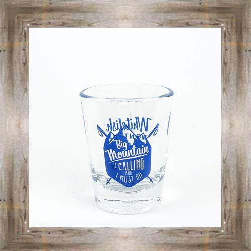 Whitefish MT Shot Glass $7.25 #8416