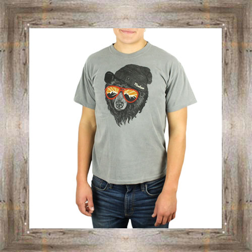 'Mountain Sunglasses Bear' Tee $25.99 #5508